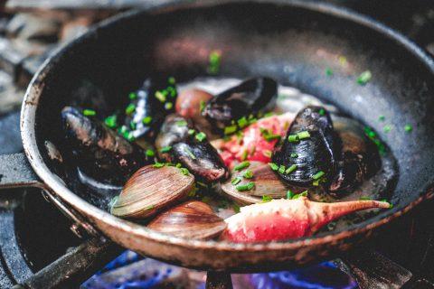 fruits de mer Chez Lévêque
