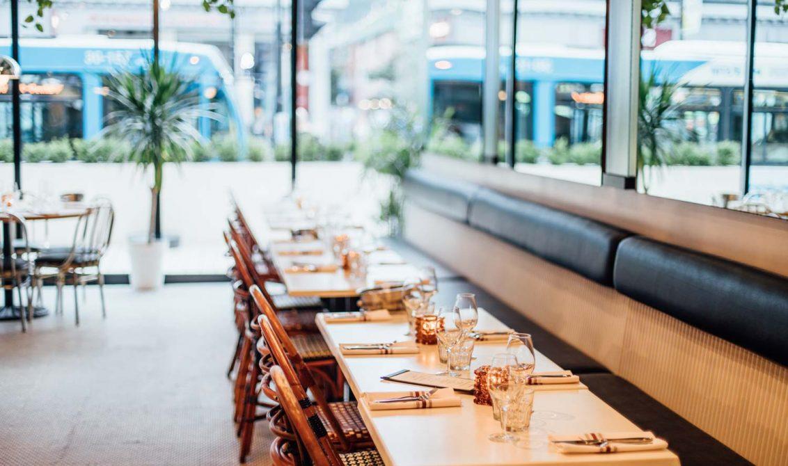 restaurant Joséphine Montréal décoration